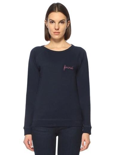 Maison Sweatshirt Mavi